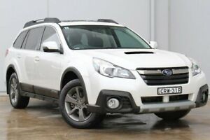 2014 Subaru Outback B5A MY14 2.0D Lineartronic AWD Premium White 7 Speed Constant Variable Wagon Liverpool Liverpool Area Preview
