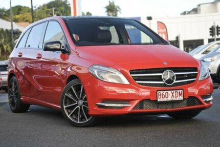 2012 Mercedes-Benz B250 W246 BlueEFFICIENCY DCT Red 7 Speed Sports Automatic Dual Clutch Hatchback