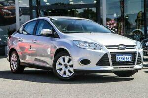 2013 Ford Focus LW MkII Ambiente PwrShift Silver 6 Speed Sports Automatic Dual Clutch Sedan