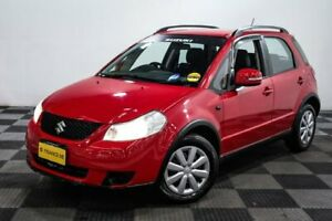 2013 Suzuki SX4 GYA MY13 Crossover Red/Black 6 Speed Manual Hatchback Edgewater Joondalup Area Preview