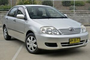 2006 Toyota Corolla ZZE122R Ascent Silver 4 Speed Automatic Sedan Lisarow Gosford Area Preview