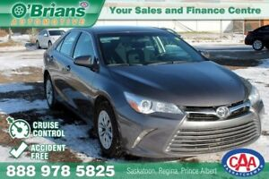 2015 Toyota Camry LE - Accident Free w/Cruse Control