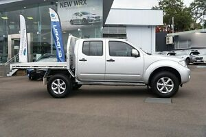 2013 Nissan Navara D40 S6 MY12 ST 4x2 Silver 6 Speed Manual Utility Brookvale Manly Area Preview