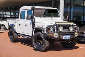 2011 Land Rover Defender 110 11MY Crew Cab White 6 Speed Manual Utility Gosnells Gosnells Area Preview