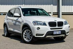2013 BMW X3 F25 MY13 xDrive 20I White 8 Speed Automatic Wagon Cannington Canning Area Preview