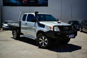 2008 Toyota Hilux KUN26R MY08 SR Silver 5 Speed Manual Cab Chassis Midvale Mundaring Area Preview