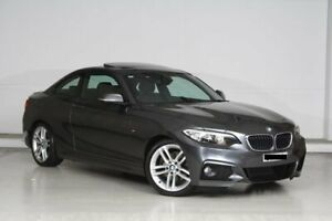 2015 BMW 2 Series F22 220i M Sport Grey 8 Speed Sports Automatic Coupe Parramatta Parramatta Area Preview