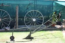 SINGLE FURROW PLOUGH. GARDEN ORNAMENT OR GO PLOUGH THE PADDOCK Wilsonton Toowoomba City Preview