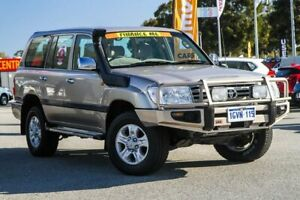 2006 Toyota Landcruiser HDJ100R GXL Gold 5 Speed Automatic Wagon Cannington Canning Area Preview