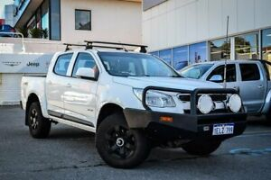 2014 Holden Colorado RG MY14 LX Crew Cab White 6 Speed Manual Utility Myaree Melville Area Preview