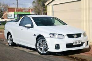 2010 Holden Ute VE II SV6 White 6 Speed Manual Utility Glenelg Holdfast Bay Preview