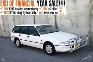 1994 Holden Commodore VR Executive White 4 Speed Automatic Wagon Mount Hawthorn Vincent Area Preview