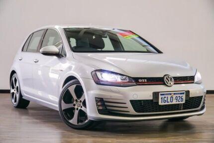2015 Volkswagen Golf VII MY15 GTi Silver 6 Speed Manual Hatchback