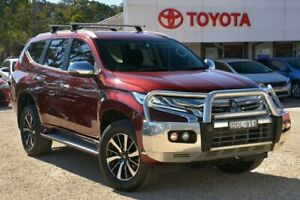 2016 Mitsubishi Pajero Sport QE GLX (4x4) Red 8 Speed Automatic Wagon Wyong Wyong Area Preview