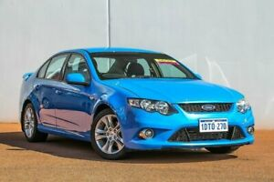 2011 Ford Falcon FG XR6 Blue 6 Speed Sports Automatic Sedan