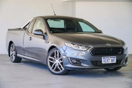 2015 Ford Falcon FG X XR6 Ute Super Cab Grey 6 Speed Manual Utility