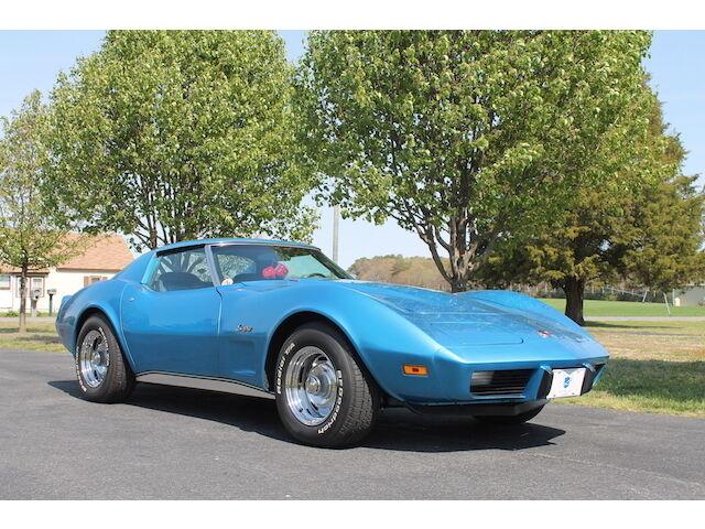 Imagen 1 de Chevrolet Corvette blue