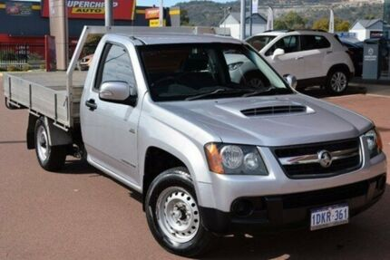 2009 Holden Colorado RC MY09 LX Silver 5 Speed Manual Cab Chassis
