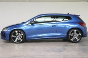 2014 Volkswagen Scirocco 1S MY15 R Coupe DSG Sprint Blue 6 Speed Sports Automatic Dual Clutch