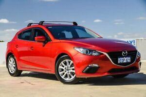 2014 Mazda 3 BM5476 Maxx SKYACTIV-MT Soul Red 6 Speed Manual Hatchback Osborne Park Stirling Area Preview