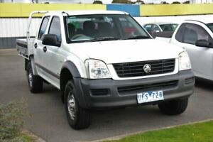 2003 Holden Rodeo RA LX Crew Cab 4x2 White 5 Speed Manual Utility Cheltenham Kingston Area Preview