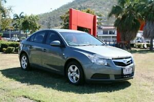 2010 Holden Cruze JG CD Grey 5 Speed Manual Sedan Townsville Townsville City Preview