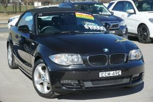 2011 BMW 118d E88 MY11 Steptronic Black 6 Speed Sports Automatic Convertible Pearce Woden Valley Preview