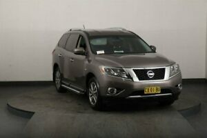 2014 Nissan Pathfinder R52 ST (4x2) Grey Continuous Variable Wagon Smithfield Parramatta Area Preview