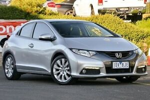 2012 Honda Civic 9th Gen VTi-L Silver 5 Speed Sports Automatic Hatchback Narre Warren Casey Area Preview