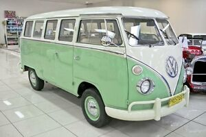 1974 Volkswagen Kombi Green 4 Speed Manual Van Carss Park Kogarah Area Preview