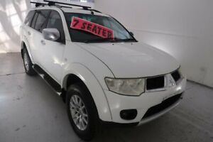 2010 Mitsubishi Challenger PB (KH) MY10 LS White 5 Speed Sports Automatic Wagon Hamilton North Newcastle Area Preview