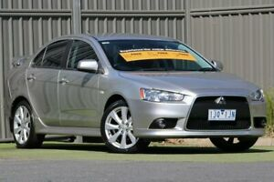 2013 Mitsubishi Lancer CJ MY13 VR-X Warm Silver 6 Speed Constant Variable Sedan