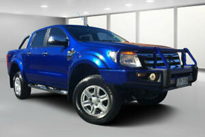 2014 Ford Ranger PX XLT 3.2 (4x4) Blue 6 Speed Manual Dual Cab Utility Dalby Dalby Area Preview