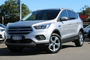 2018 Ford Escape ZG 2018.00MY Trend 2WD Silver 6 Speed Sports Automatic Wagon