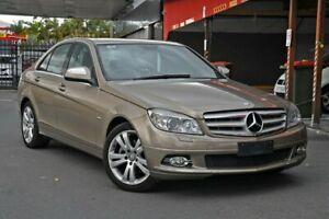 2007 Mercedes-Benz C-Class W204 C280 Avantgarde Gold 7 Speed Sports Automatic Sedan Nundah Brisbane North East Preview