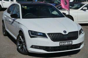 2018 Skoda Superb NP MY18.5 206TSI Sedan DSG SportLine White 6 Speed Sports Automatic Dual Clutch Phillip Woden Valley Preview
