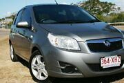 2011 Holden Barina TK MY11 Grey 4 Speed Automatic Hatchback Townsville Townsville City Preview