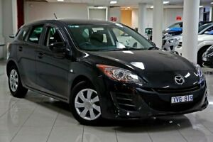 2010 Mazda 3 BL10F1 MY10 Neo Activematic Black 5 Speed Sports Automatic Hatchback