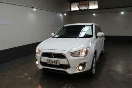 2013 Mitsubishi ASX XB MY13 Aspire (2WD) White 5 Speed Manual Wagon Pennington Charles Sturt Area Preview