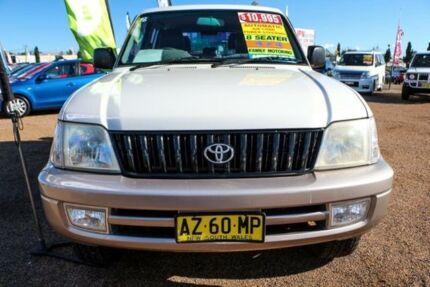 2002 Toyota Landcruiser Prado VZJ95R GXL White 4 Speed Automatic Wagon Colyton Penrith Area Preview