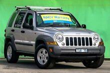2005 Jeep Cherokee KJ Sport Silver Automatic Wagon Ringwood East Maroondah Area Preview