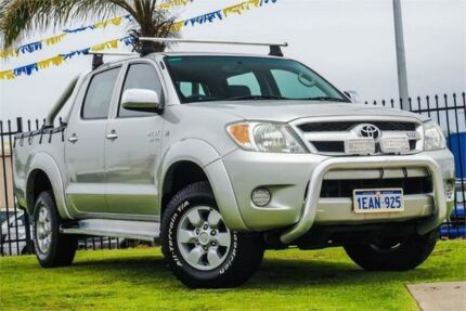 2005 Toyota Hilux GGN25R MY05 SR5 Silver 5 Speed Automatic Utility Wangara Wanneroo Area Preview
