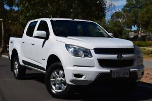 2012 Holden Colorado RG MY13 LT Crew Cab White 6 Speed Sports Automatic Utility St Marys Mitcham Area Preview