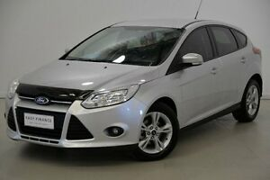 2014 Ford Focus LW MKII Trend PwrShift Silver 6 Speed Sports Automatic Dual Clutch Hatchback Mansfield Brisbane South East Preview