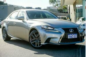 2015 Lexus IS GSE31R IS350 Grey Sports Automatic Sedan Wangara Wanneroo Area Preview