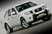 2012 Nissan Navara D40 S6 MY12 ST White 6 Speed Manual Utility Ferntree Gully Knox Area Preview