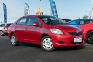 2010 Toyota Yaris NCP93R MY11 YRS Burgundy 4 Speed Automatic Sedan Hoppers Crossing Wyndham Area Preview