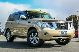 2013 Nissan Patrol Y62 TI-L Beige 7 Speed Sports Automatic Wagon Cannington Canning Area Preview