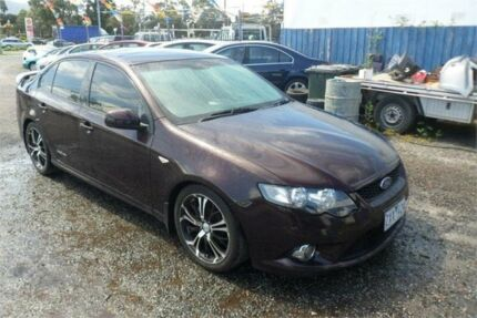 2009 Ford Falcon FG XR6 Maroon 5 Speed Auto Seq Sportshift Sedan Bayswater North Maroondah Area Preview