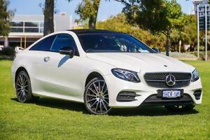 2017 Mercedes-Benz E-Class C238 E400 9G-Tronic PLUS 4MATIC White 9 Speed Sports Automatic Coupe Burswood Victoria Park Area Preview